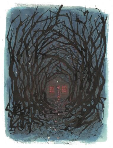Visuel Une Forêt (Antoine Blanquart)